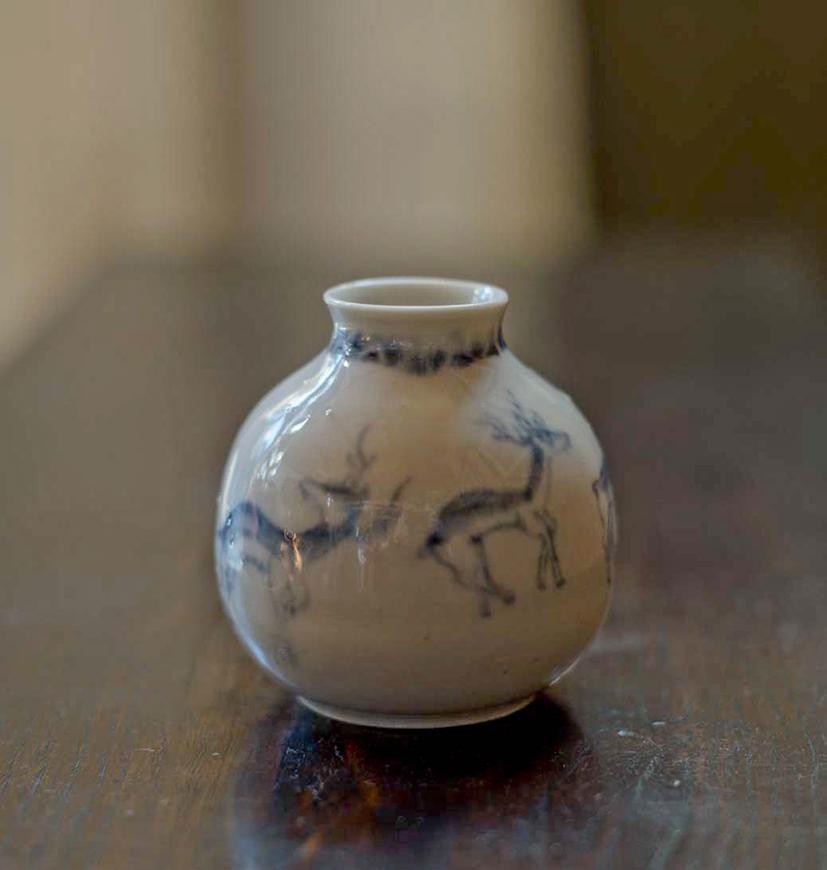 徳利「鹿」の画像
