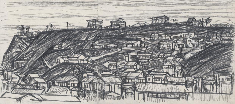 無題(七里ヶ浜の住宅地)の画像
